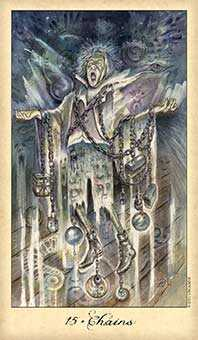 The Devil Tarot Card - Ghosts & Spirits Tarot Deck