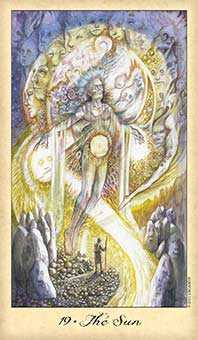 The Sun Tarot Card - Ghosts & Spirits Tarot Deck