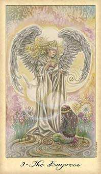 The Empress Tarot Card - Ghosts & Spirits Tarot Deck