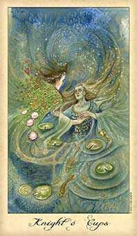 Water Warrior Tarot Card - Ghosts & Spirits Tarot Deck