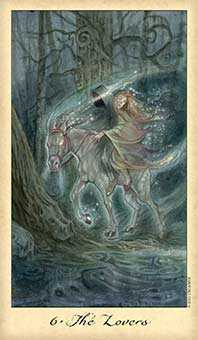 The Lovers Tarot Card - Ghosts & Spirits Tarot Deck
