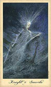 Son of Swords Tarot Card - Ghosts & Spirits Tarot Deck