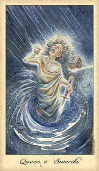 Mother of Wind Tarot Card - Ghosts & Spirits Tarot Deck