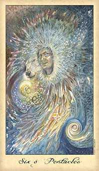 Six of Earth Tarot Card - Ghosts & Spirits Tarot Deck