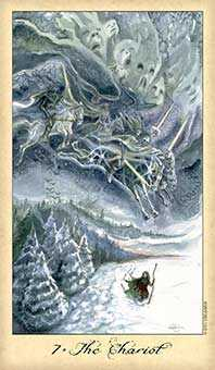 The Chariot Tarot Card - Ghosts & Spirits Tarot Deck