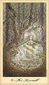 The Hermit Tarot Card - Ghosts & Spirits Tarot Deck