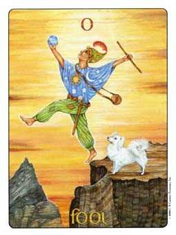 The Foolish Man Tarot Card - Gill Tarot Deck