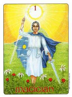 The Magus Tarot Card - Gill Tarot Deck