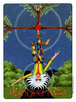 The Hanged Man Tarot Card - Gill Tarot Deck