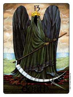 Death Tarot Card - Gill Tarot Deck