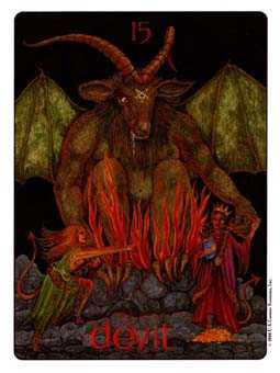 Temptation Tarot Card - Gill Tarot Deck