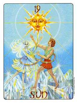 The Sun Tarot Card - Gill Tarot Deck