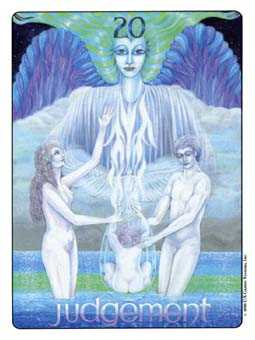 The Judgment Tarot Card - Gill Tarot Deck