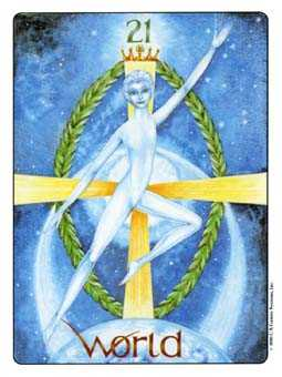 The World Tarot Card - Gill Tarot Deck