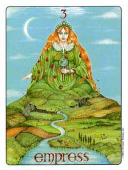 The Empress Tarot Card - Gill Tarot Deck