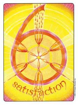 Six of Cups Tarot Card - Gill Tarot Deck