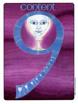 Nine of Bowls Tarot Card - Gill Tarot Deck