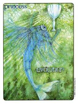 Mermaid Tarot Card - Gill Tarot Deck