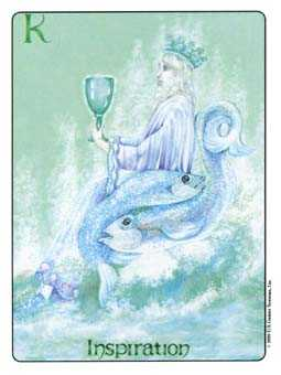Roi of Cups Tarot Card - Gill Tarot Deck