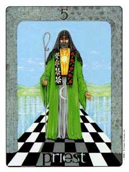 The Hierophant Tarot Card - Gill Tarot Deck
