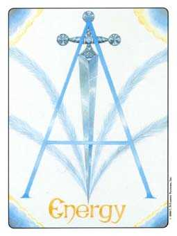 Ace of Wind Tarot Card - Gill Tarot Deck