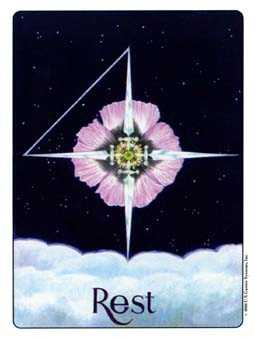 Four of Swords Tarot Card - Gill Tarot Deck
