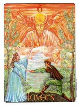 The Lovers Tarot Card - Gill Tarot Deck
