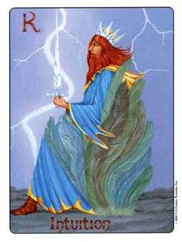 Roi of Swords Tarot Card - Gill Tarot Deck