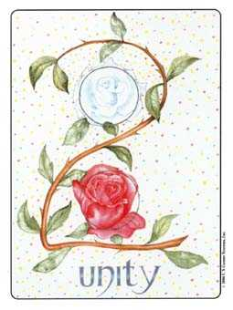 Two of Coins Tarot Card - Gill Tarot Deck