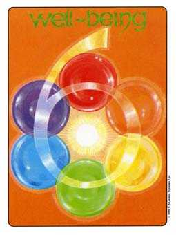Six of Rings Tarot Card - Gill Tarot Deck