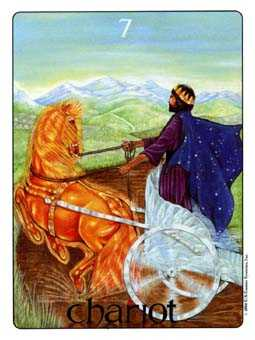 The Chariot Tarot Card - Gill Tarot Deck