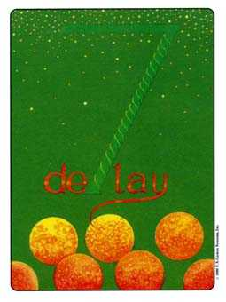Seven of Pumpkins Tarot Card - Gill Tarot Deck