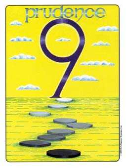 Nine of Stones Tarot Card - Gill Tarot Deck