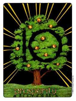 Ten of Spheres Tarot Card - Gill Tarot Deck