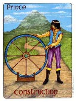 Prince of Pentacles Tarot Card - Gill Tarot Deck