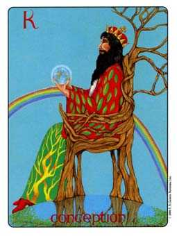 Roi of Coins Tarot Card - Gill Tarot Deck
