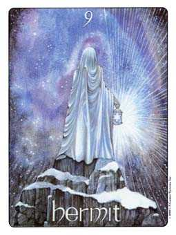 The Hermit Tarot Card - Gill Tarot Deck