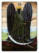 Death Tarot card in Gill deck