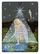 The Star Tarot card in Gill deck