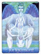 Judgement Tarot card in Gill deck
