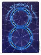 Eight of Wands Tarot card in Gill deck