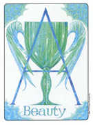 Ace of Cups Tarot card in Gill deck