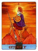 The Emperor Tarot card in Gill Tarot deck