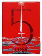 Five of Swords Tarot card in Gill deck
