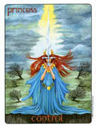 Page of Swords Tarot card in Gill deck