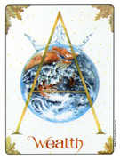 Ace of Coins Tarot card in Gill deck