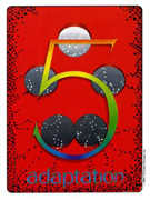 Five of Coins Tarot card in Gill deck
