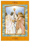 goddess - Two of Cups