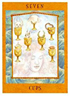 goddess - Seven of Cups