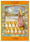 goddess - Eight of Cups